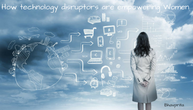 technology-disrutors-are-empowering-women